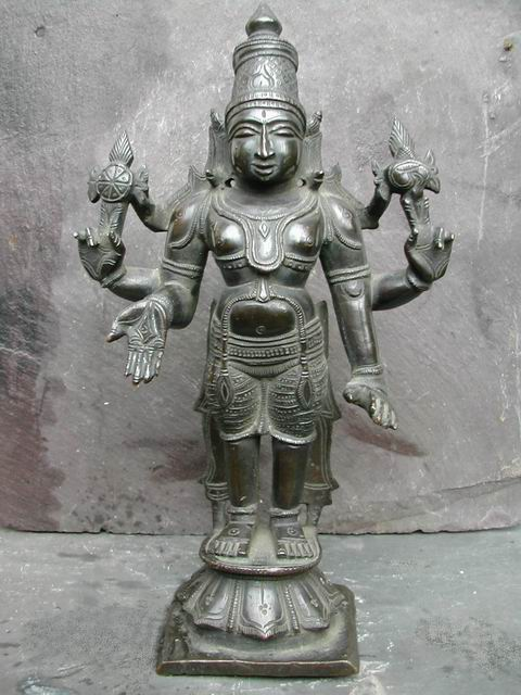 South Indian Vishnu Idol